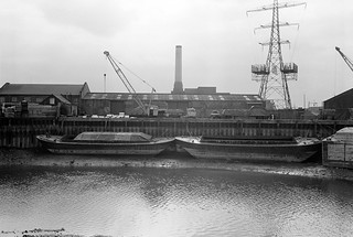 Leamouth Wharf, Orchard Place, Blackwall Point Power Station, Bow Creek, Tower Hamlets, Newham, 1983 36a-15_2400