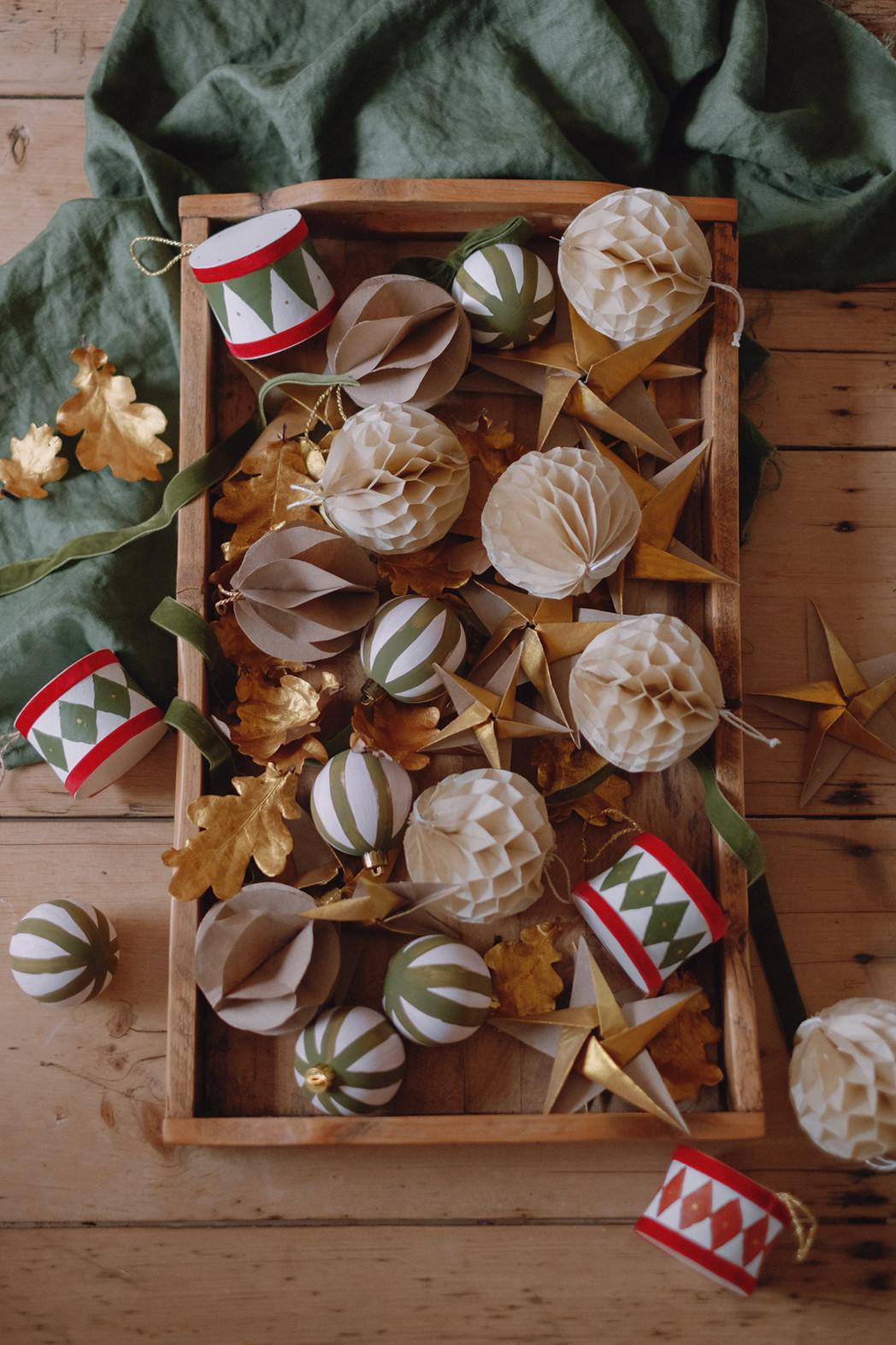 Easy Diy Christmas Tree Decorations Wishwishwish