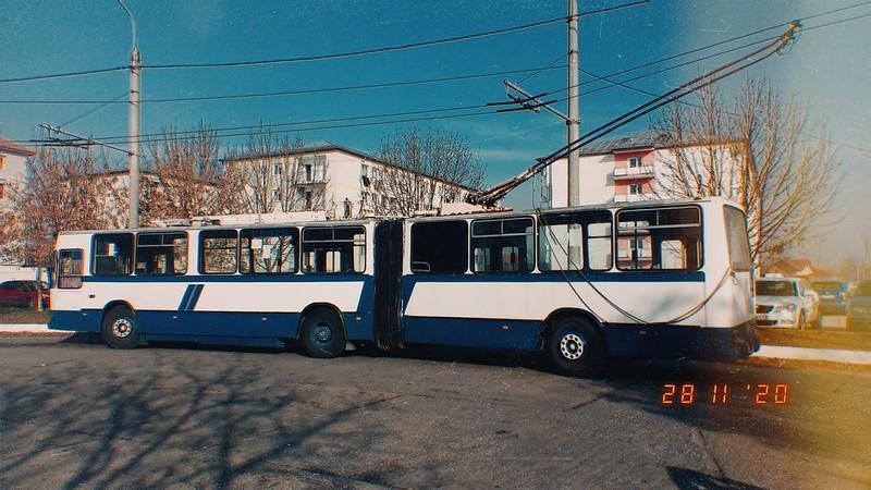 Troleibuz Rocar 217E #109 al Transloc Tg. Jiu