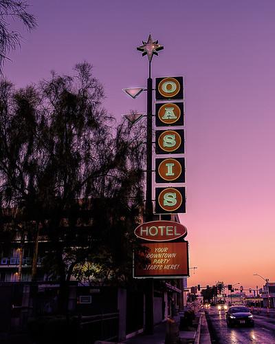2020 america art doowntown fujifilmxt3 fujifilmxf1855mmlens lasvegas nevada november streetphotography usa vegas street sunset sign neon hotel