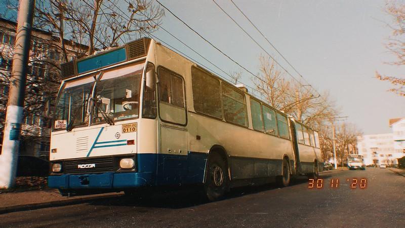 Troleibuz Rocar 217E #110 al Transloc Tg. Jiu