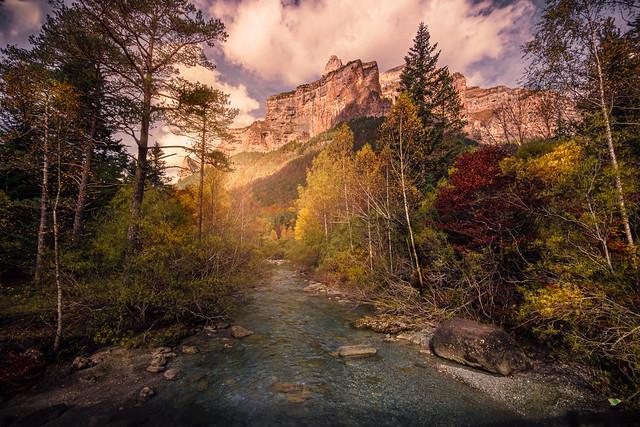 Parque Nacional de Ordesa y Monte Perdido. Huesca, Aragón, España