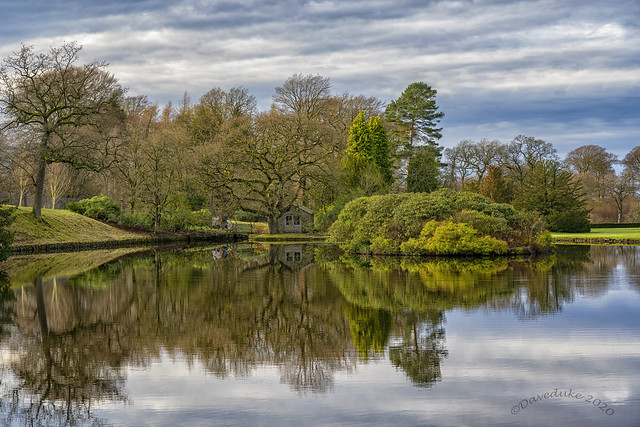 The Boat House, Lyme Park. NT.