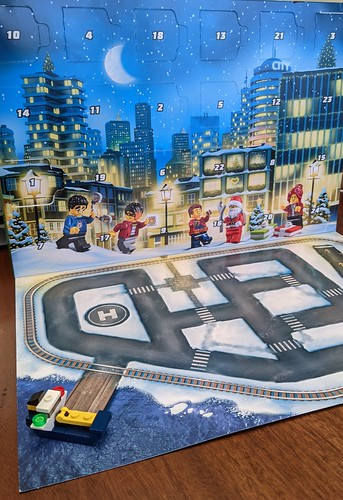 LEGO City Advent 2020 day 1