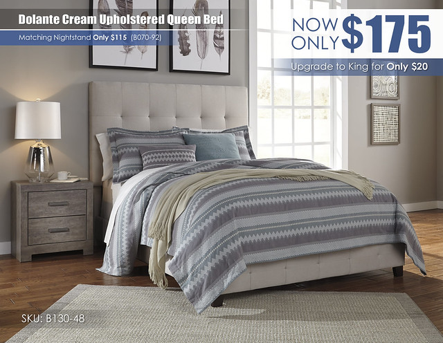Dolante Cream Upholstered Queen Bed_B130_Update