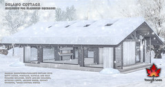 Trompe Loeil - Delano Cottage & Snow Add-On for FaMESHed December