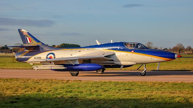 XE688 Hawker Hunter T72  Hawker Hunter Aviation