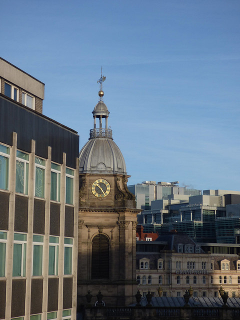 Birmingham Cathedral and the Grand Hotel