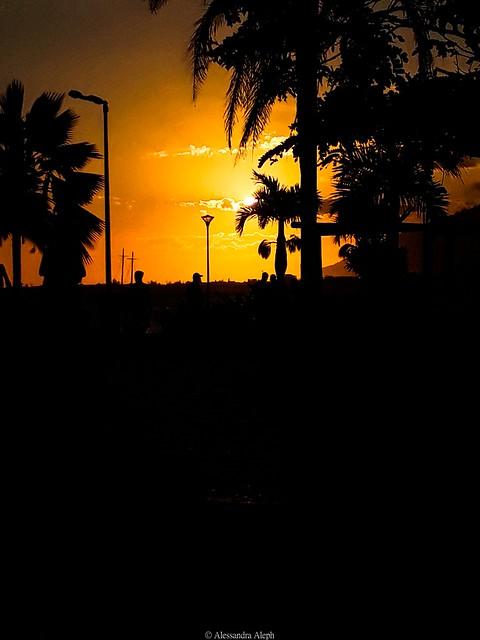 Por do sol Praia do centro Rio das Ostras (1)