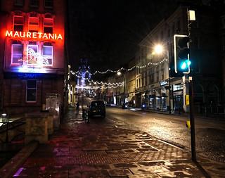 Saturday night Park St Bristol
