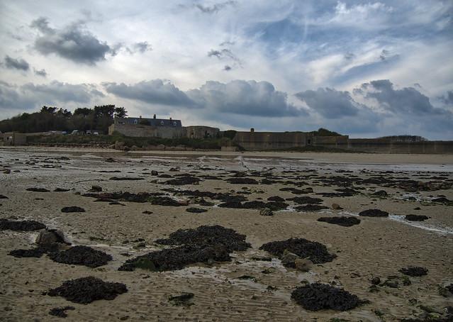 Nunnery from Longis, Alderney