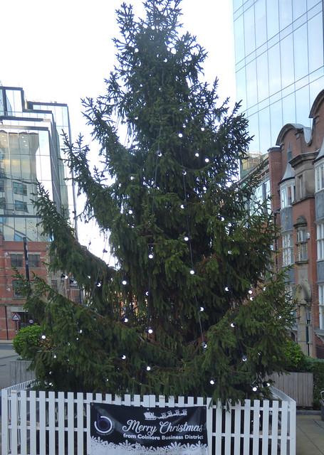 Church Street Square Christmas Tree 2020