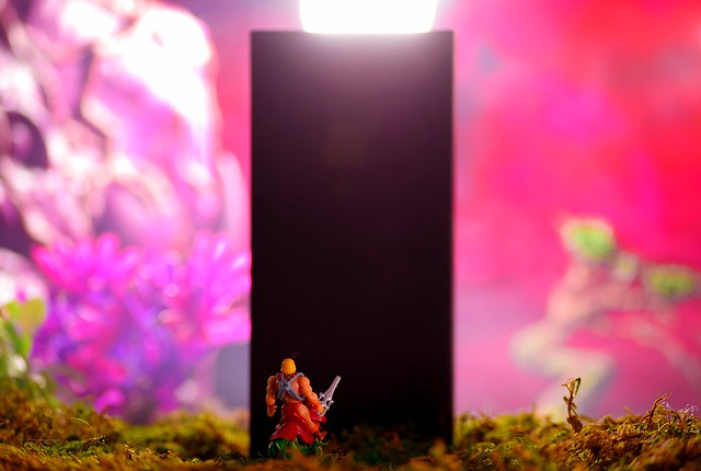 He-Man vs the Monolith