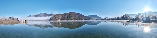 Wolfgangsee Panorama