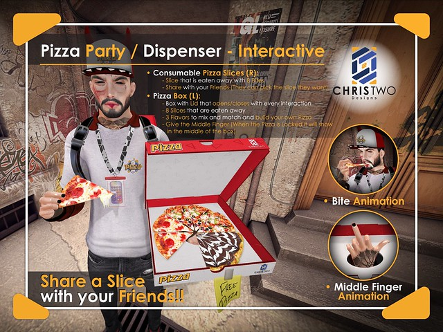Pizza Party - [Chris Two Designs]
