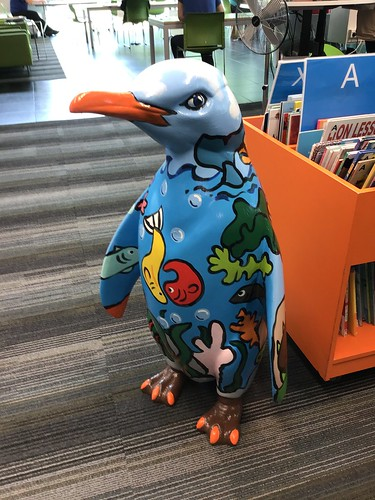 Pop Up Penguins at South Library