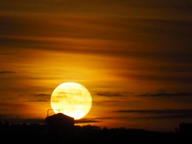 Lever de lune...moon rise