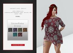 Snowflake Dress Vendor