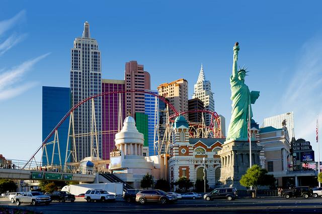 New York-New York. Las Vegas