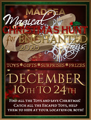 MadPea's Magical Christmas Hunt for Enchanted Toys