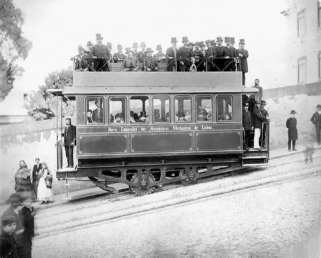 Trams funiculaire de Lisbonne (Portugal)