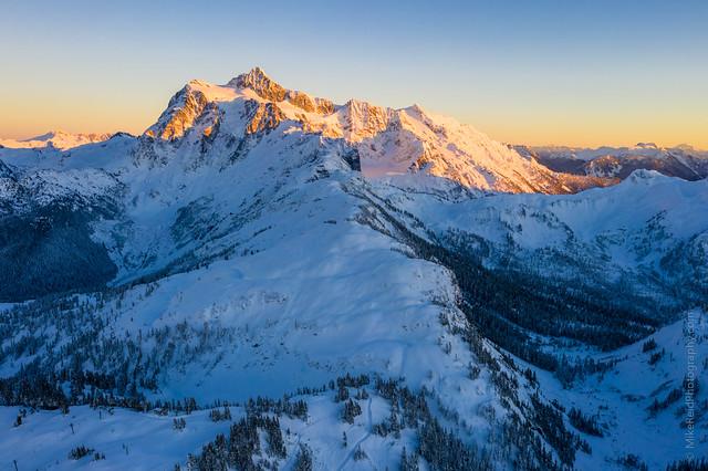 Shuksan Alpenglow
