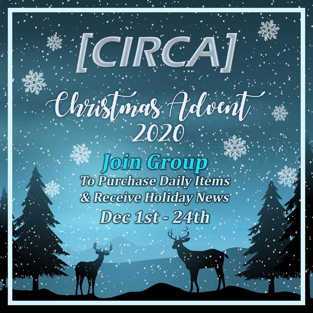 [CIRCA] - Christmas Advent Event - Dec 2020