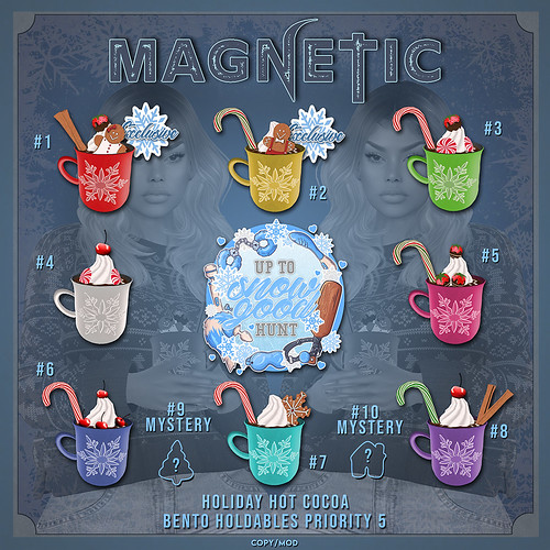 Magnetic - Holiday Hot Cocoa