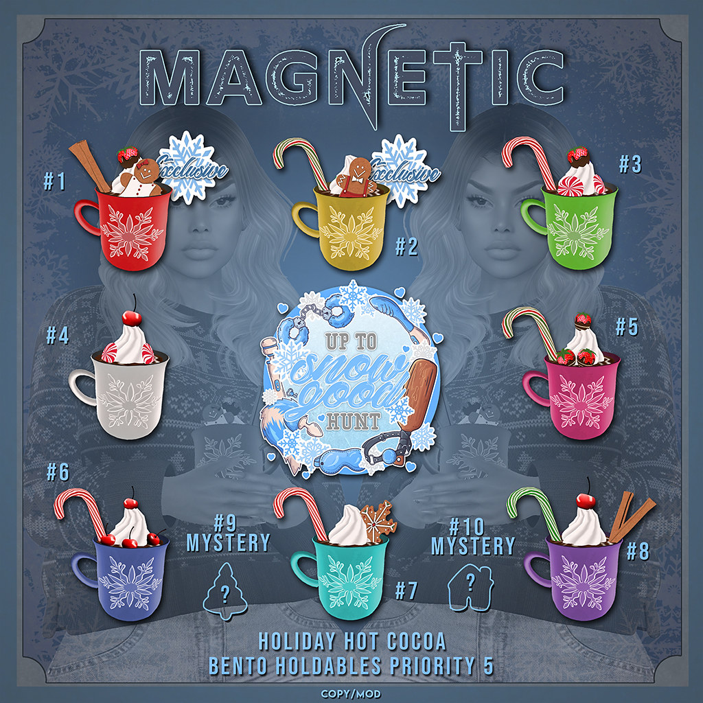 Magnetic – Holiday Hot Cocoa