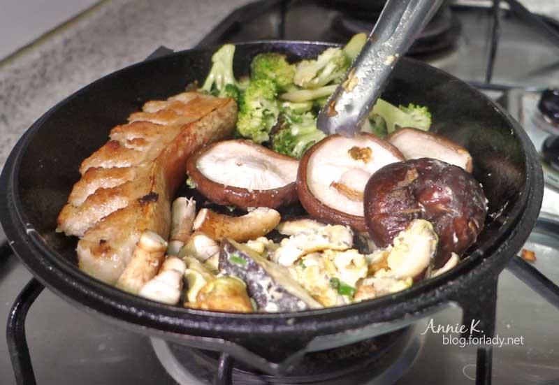 3香菇烤肉