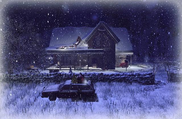Snowy Misty Creek Cabin by Hisa