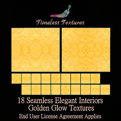 Dec 1st Advent Gift - 18 Seamless Elegant Interiors Golden Glow Timeless Textures