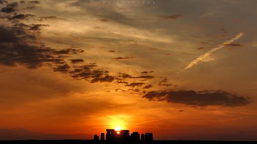 tumraneedi ruinenstaat sunset stonehenge standingstones druidsector england neolithic neolithikum steinzeit