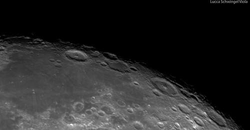 Crateras Rimae Petavius e Langrenus