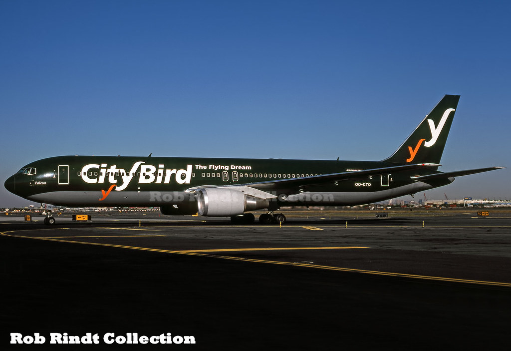 City Bird B767-33A/ER OO-CTQ