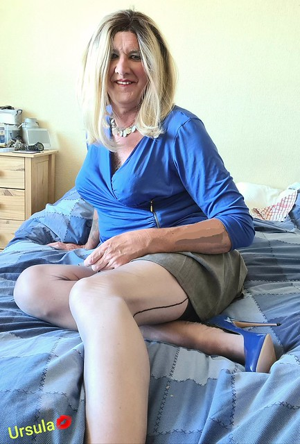 Spot the wrinkles in my nylons