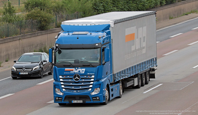 KS DD 252 Mercedes 09-07-2020 (Germany)