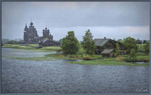 Stormy Day on Kizhi Island