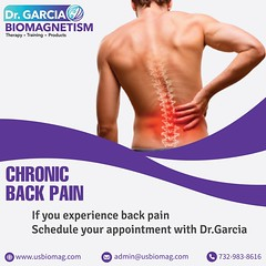 Backpain and Biomagnetism therapy