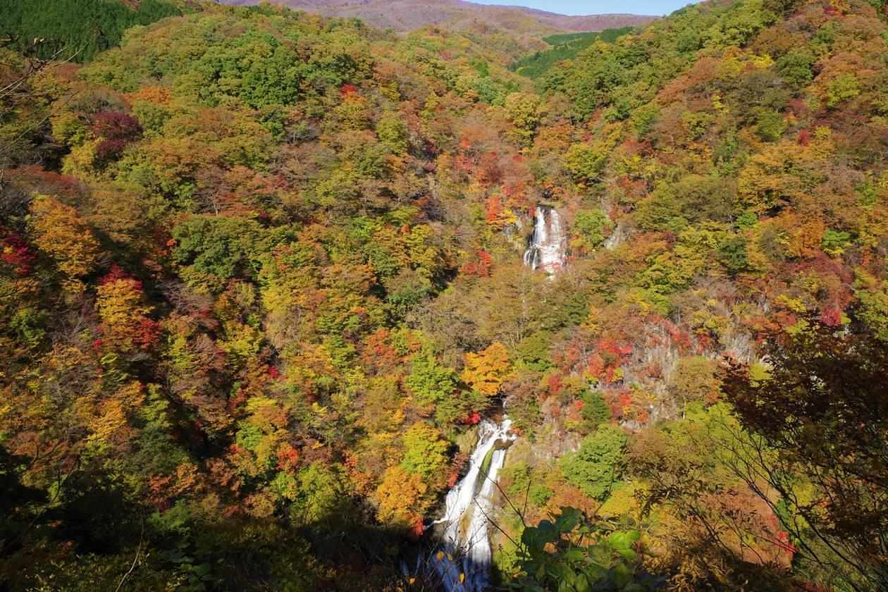 日光・霧降の滝と紅葉