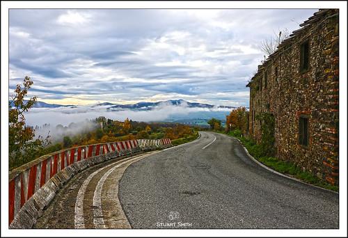 Rural Ruins, Via Nazionale, Cafaggiolo, Tuscany, Italy