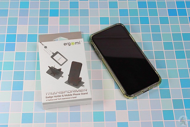 ergomi識別證手機支架