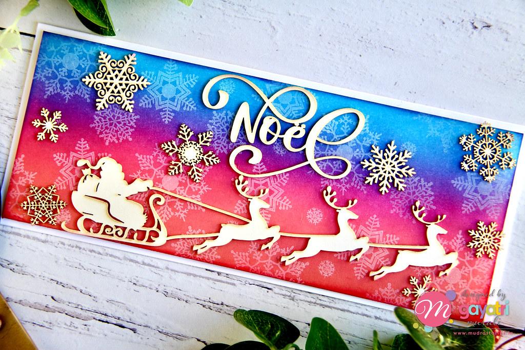 Noel card closeup1