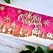 Merry Christmas card closeup