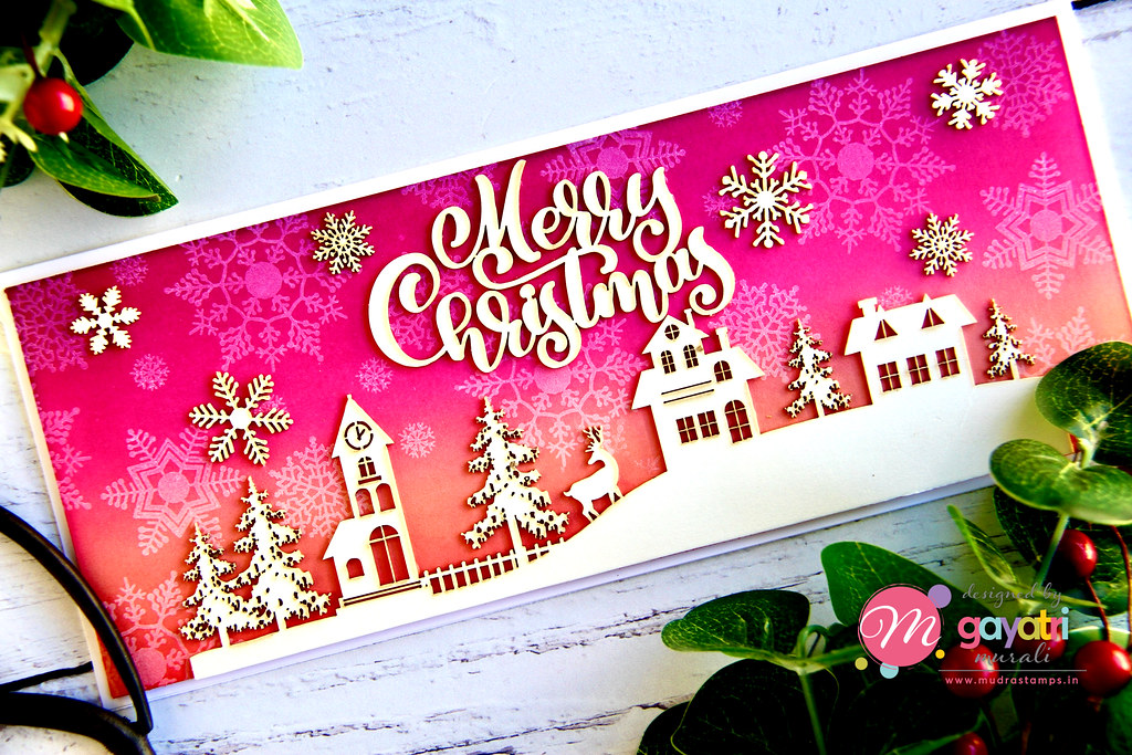 Merry Christmas card closeup1