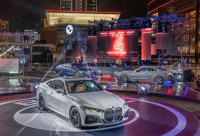 [新聞照片一] 全新世代BMW 4系列雙門跑車高調登場
