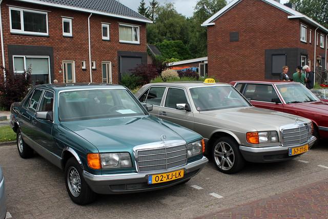 1983 Mercedes-Benz 280 SE and 1986 Mercedes-Benz 260 SE K6