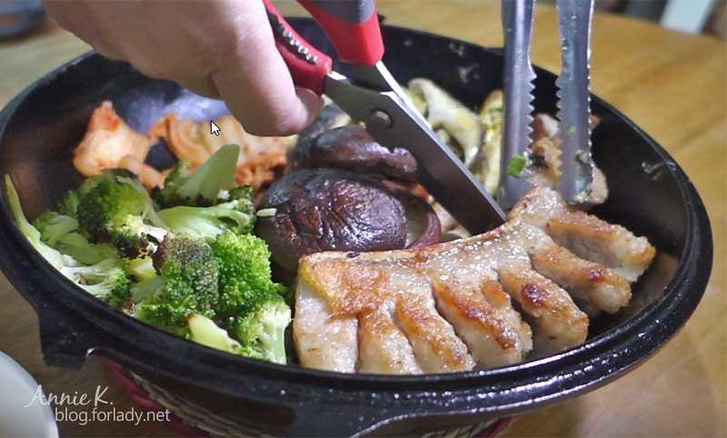 4鐵板烤肉香菇