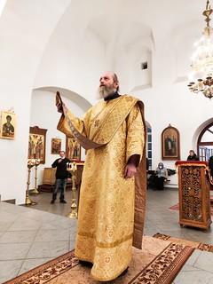 29.11.2020 | Божественная литургия в Юрьевом монастыре