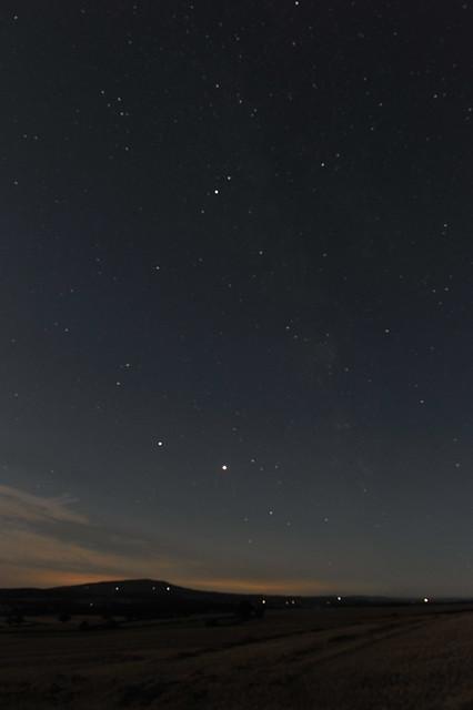 Night sky in Shropshire